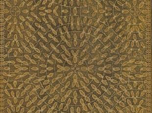 【纽约下城公园】 新西兰羊毛圆圈叶子地毯(243x335厘米),地毯,