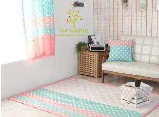 特价 现货 韩国代购 纯棉公主风防滑地垫 宝宝爬垫,地毯,
