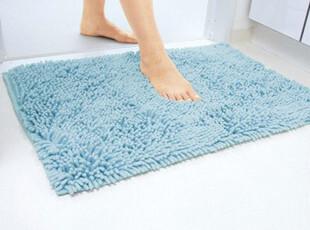 包邮 日本LEC地垫 浴室防滑垫 雪尼尔浴垫 超密纤维瞬间吸水 L号,地毯,