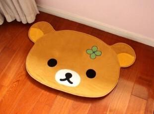 特!正版 San-X/Rilakkuma轻松小熊 可爱大头地垫/家居地毯,地毯,