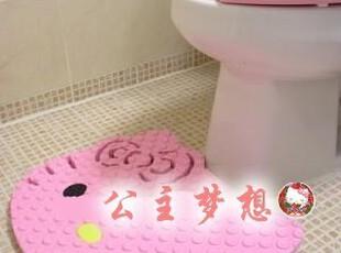 ★公主梦想★韩国家居直送*Hello Kitty 浴室用防滑地垫*M212,地毯,