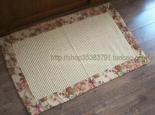 最新出口欧洲市场'麂皮绒包边纯棉柔软地垫/地毯/沙发垫50*80,地毯,