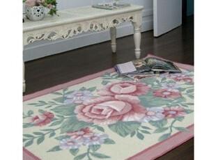 ●公主梦想●韩国 家居*玫瑰情怀*经典浪漫大地垫* C1239,地毯,