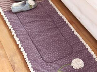 「韩居屋」素雅花朵田园系列地垫..韩国进口沙发垫.地毯.lh015,地毯,