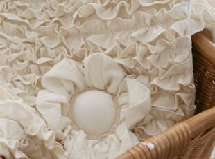 「echo house 」♥韩国家居直送♥ 米色花朵蛋糕门垫 地垫 沙发垫,地毯,