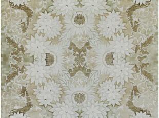 高贵奢侈品-皇家风范-手工编织蚕丝地毯 9*12(英尺) 向日葵,地毯,