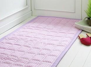 〓持家太太〓韩国家居*紫色格子*韩国防滑地垫DT120057(定做),地毯,