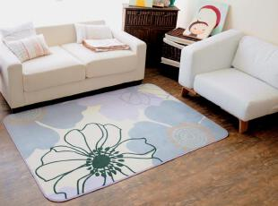 ROBO出口绒面地毯 太阳花型 气质高雅 客厅茶几地毯 卧室地毯地垫,地毯,