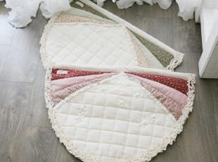 韩国进口代购 地垫韩式拼图布艺沙发垫 坐垫 绗缝防滑门垫 地垫,地毯,