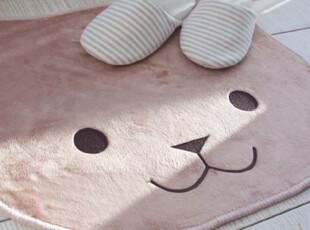 【Asa room】韩国进口代购地毯 卡通可爱小熊短绒地毯 d041,地毯,