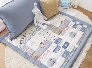 韩国定做!韩国代购儿童无味防滑 地垫 爬行垫子 客厅茶几垫,地毯,