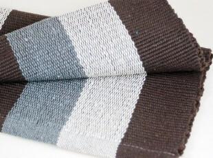 【最新日本订单,绝好品质】格瑞恩 彩色宽条纹纯棉地垫 0055,地毯,