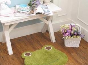 ★公主梦想★韩国家居*小青蛙呱呱呱*绿色布艺地垫M855,地毯,