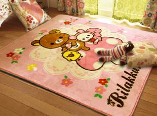 已质检儿童节可爱睡毯 超柔拉舍尔客厅卧室地毯儿童防滑垫爬毯,地毯,