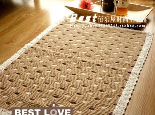 佰乐屋●外单●全棉地垫/门垫/床前垫/防滑垫/地毯(鹅卵石45*65),地毯,