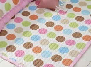 ★公主梦想★韩国家居*彩色点点*缤纷色彩*装饰大地垫W2375,地毯,