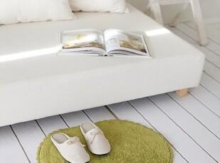 【Asa room】韩国进口代购脚地毯 绿色可爱卧室客厅地毯 d083-g,地毯,
