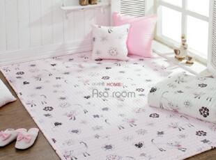 【Asa room】韩国进口代购 两用可爱小猫儿童地毯床单爬行垫dc052,地毯,