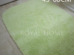 出口美国100%长绒棉厚实超柔软45*68地巾地垫浴室用吸水性良好,地毯,