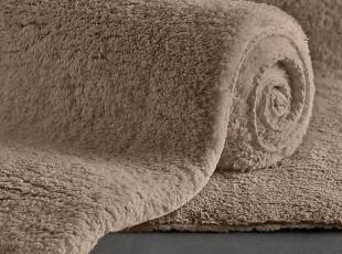 简单的奢华 欧洲上等棉线超级柔软纯色系列浴垫地垫 Dune 现货,地毯,