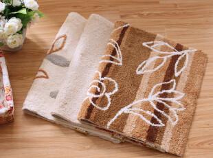 8306 全棉高毛地垫50*80 彩条地毯|脚垫|浴垫|门垫(多入色),地毯,