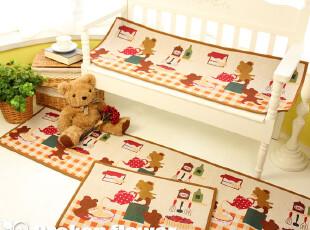 外贸田园可爱卧室防滑垫地毯地垫床前垫飘窗垫小熊三尺寸,地毯,
