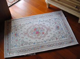 高档双线棉加丝 水洗地毯/防滑地垫/进户毯 欧式1048浅米,地毯,