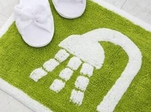 1.14【韩国家居】水龙头图案浴室防滑地垫/脚垫40x60cm,地毯,