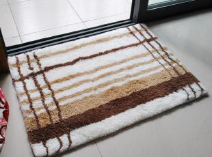特 超值价  最好的腈纶材质大达25MM超高绒头地垫 50*70cm,地毯,