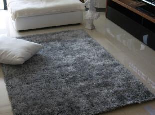新品 加密超柔软 中国结地毯/地垫/防滑垫 1.4*2.0 浅灰 可定做,地毯,