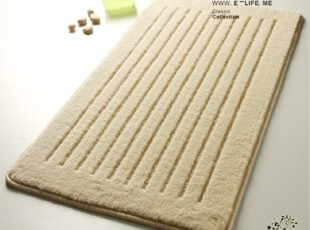 笑笑家居 北欧线条 防滑地垫|茶几垫|浴门垫|浴室垫 50*80,地毯,
