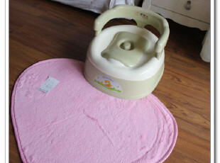 日单 特价!出口日本原单 超细纤维心形地垫 50*70 防滑可机洗~,地毯,