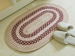 RoVing 百年经典 多彩手工编织防滑地垫/床前垫,地毯,