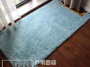 高档品大达DADA超柔软吸水床前垫/地毯/客厅地垫70*140CM 淡蓝,地毯,