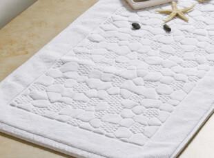 康尔馨 全棉 鹅暖石地垫 门垫 防滑垫 浴室 酒店地巾 绒面 脚垫,地毯,