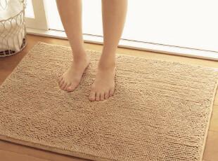 雨柔超纤雪尼尔地垫客厅门垫地毯卫浴防滑垫定做特价40/50/60/120,地毯,