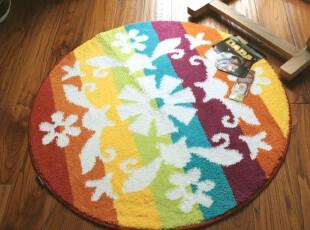 新款 大达DADA柔软吸水地垫门垫防滑垫地毯90圆 DA7247A,地毯,