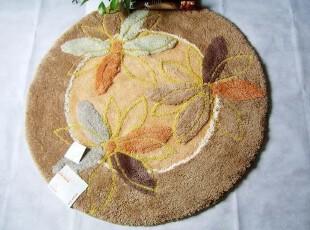 DADA大达超柔软圆形垫/茶几地垫/地毯/直径90CM(货号:r90002),地毯,