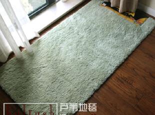 高档大达DADA超柔软吸水床前垫/地毯/客厅地垫70*140 C8268-409绿,地毯,