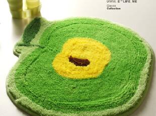 『逸点家品』青苹果系列地垫|门厅垫|浴室垫 53*56cm,地毯,