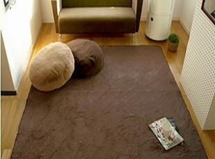 IF HOM*出口日本的法兰绒纯色客厅卧室外贸客厅地毯 多色,地毯,