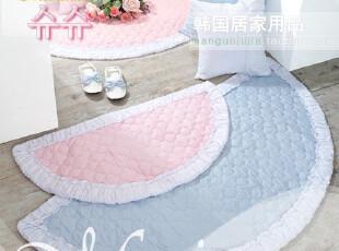 【Asa room】韩国纯棉地毯 韩国直送进口代购半圆地毯-d020,地毯,