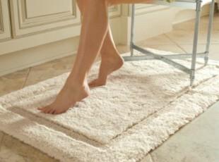 【纽约下城公园】上等手工超柔软素色系列浴垫地垫 多色,地毯,