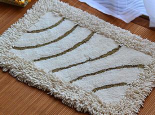 全棉雪尼尔包边地毯 外贸进门地垫门垫子脚垫浴室吸水厚原单,地毯,