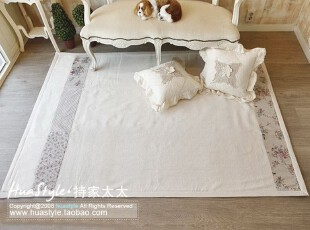 〓持家太太〓韩国家居*田园*韩国衍缝防滑地垫DT120074,地毯,