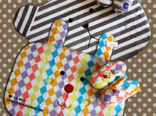 梨花 正版呛口小辣椒梨花rinka杂志日本accent 地垫 地毯 6款入,地毯,