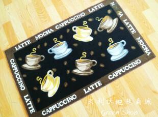 特价德国原单 咖啡馆地毯 pub垫 卫浴门垫 防滑底 可爱地毯,地毯,