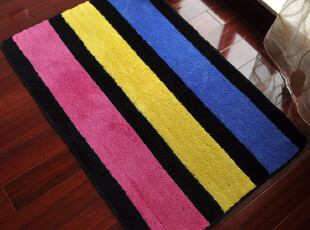 超值植绒防滑地垫 玄关地毯 进门毯 床前毯 门垫 80*120cm包邮,地毯,