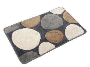 新品 大达时尚创意提花鹅卵石门垫地毯 浴室吸水防滑垫 飘窗地垫,地毯,