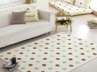 韩国代购纯棉布艺家居瑜伽垫布艺绒垫_地垫_客厅垫_卧室垫(D14),地毯,